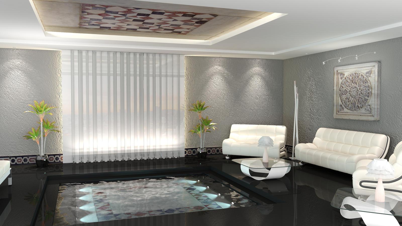 Living Room Lounge Interiors pool lounge interior by shyntakun on deviantart shyntakun