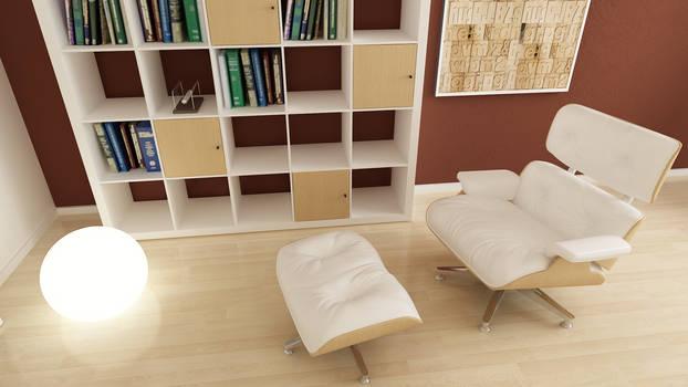 Reading corner detail