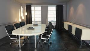 Grey Meeting room