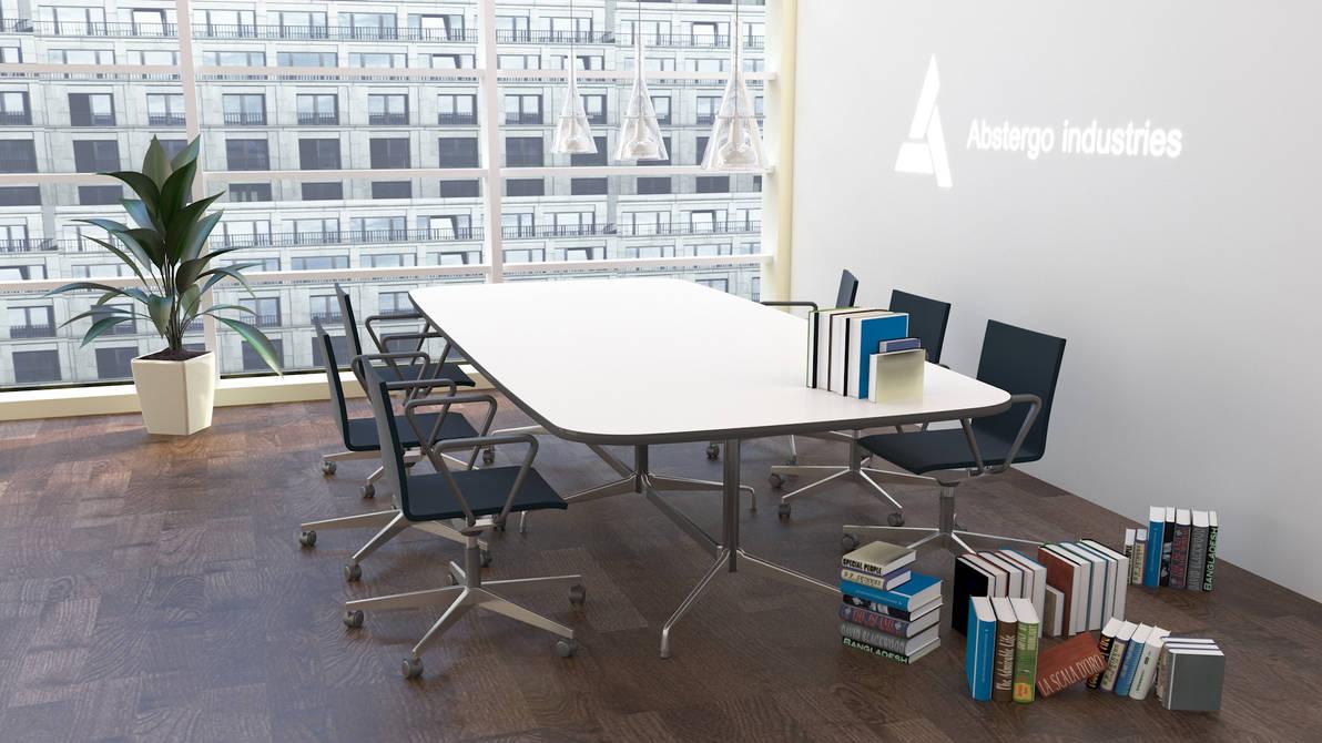 3D Interior meeting room