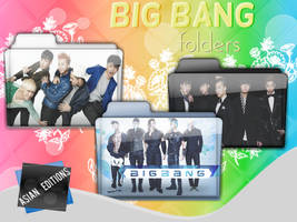 +BIG BANG Folders by AsianEditions