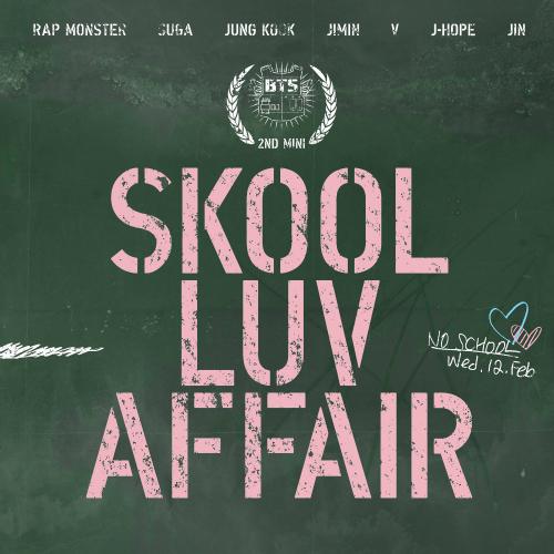 BTS (Bangtan Boys) Skool luv affair 2nd mini album by AsianEditions