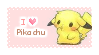 I Love Pikachu | STAMP by AsianEditions