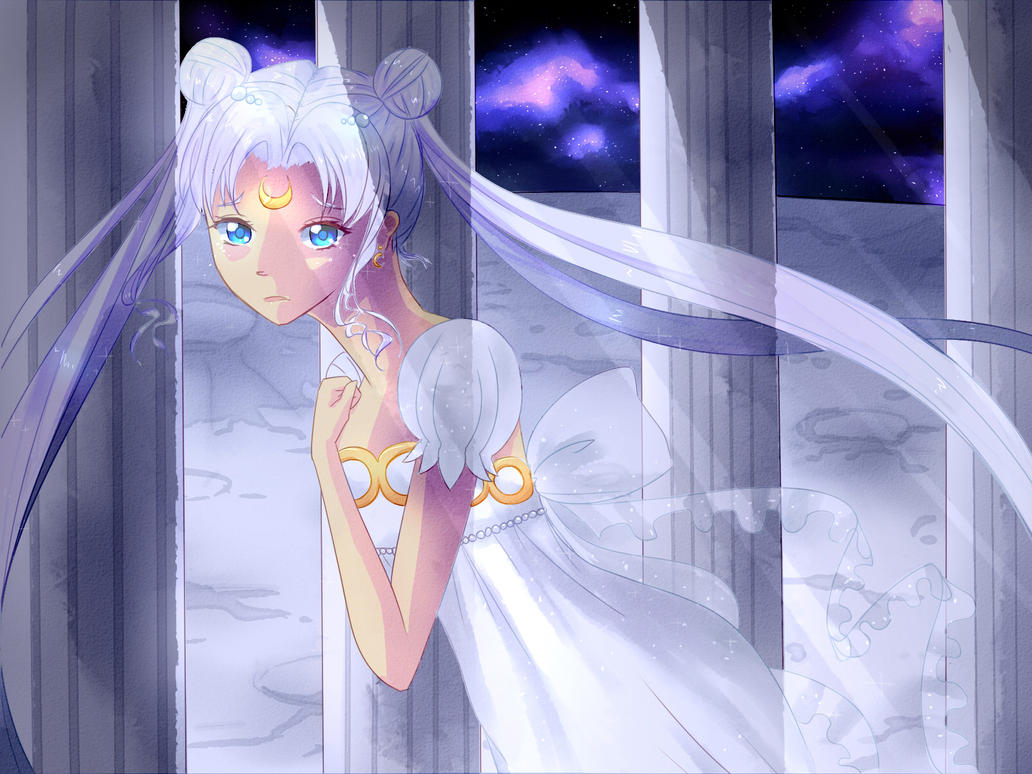 Princess Serenity by cateau