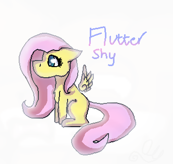 Just a lil' Fluttershy by Oll05