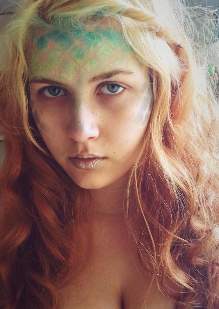 Brooke- mermaid makeup by Singinchic7