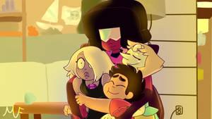 Family Hug by HorrorFreakArt