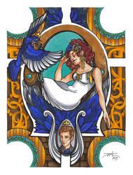 The Bluebird by Adm-James
