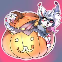 Pumpkin Snatched Uzzieboo Ych
