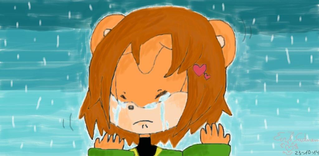 tears and rain by Evil-Sadness