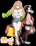 /Mitsuri and Nezuko - Render/