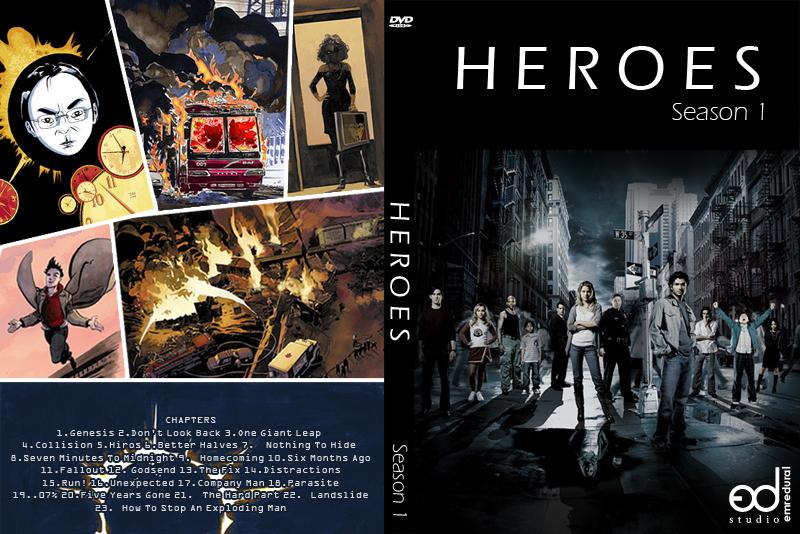 Heroes Dvd Cover By Emredural On Deviantart