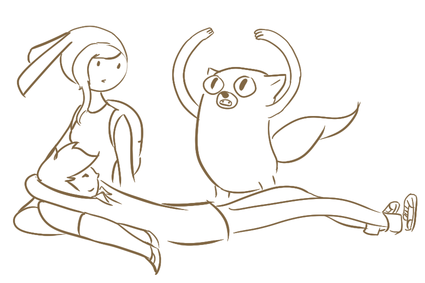 Coloring Pages of Adventure Time Fiolee