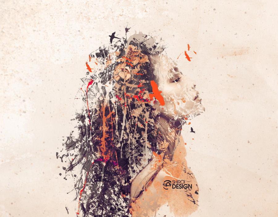 Autumn girl by Garaguchy
