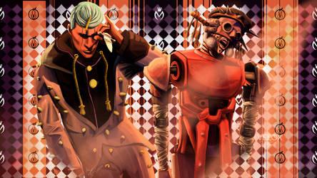 Jobin Higashikata and Speed King