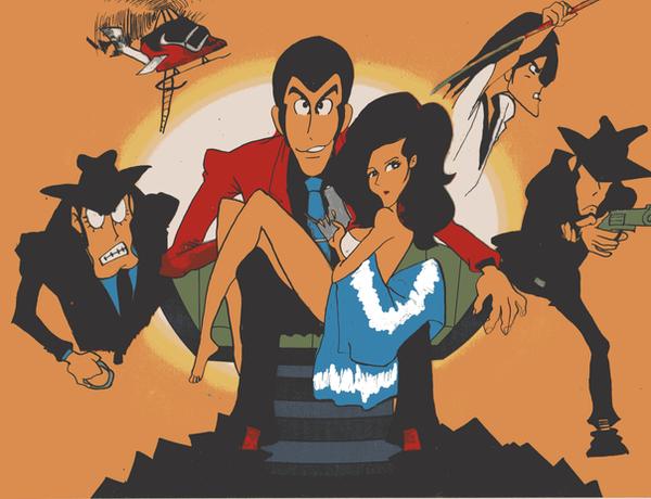 Lupin the Third by c6yr2002 Siêu Đạo Chích: Lupin Đệ Tam   loạt phim từ truyện tranh mới dành cho người yêu phim