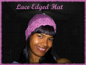 Lace Edged Hat