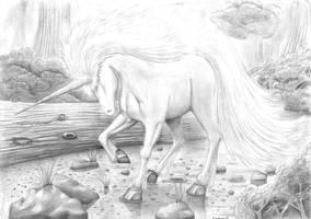 Unicorn by IndigoD3stiny