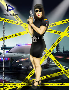 Ana The Police Officer #03