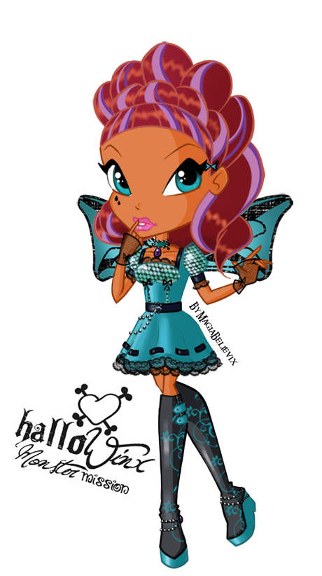 Limited - Halloween Graphics~! <3 Layla_hallowinx_chibi_by_magiabelievix-d4hbsd4
