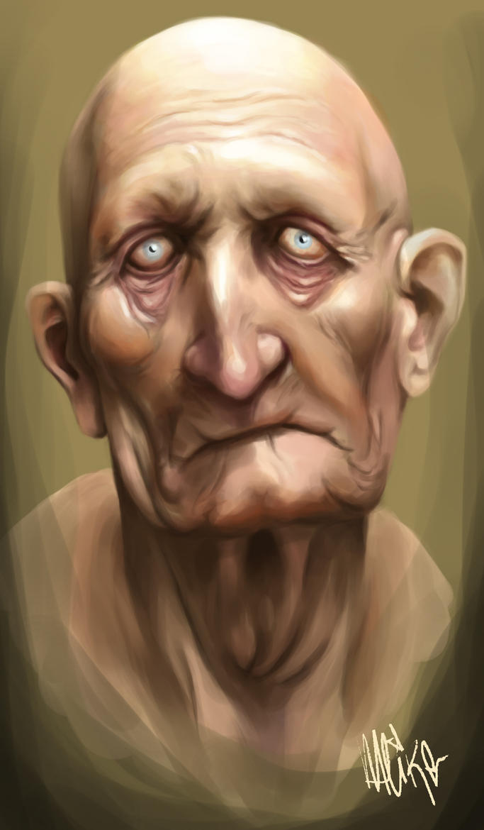 old man study by pur1n