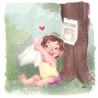 #findblankybear
