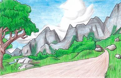 Rytlish Landscape by GuildmasterPhill