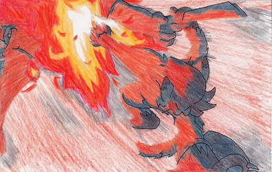 Fiery Kick by GuildmasterPhill