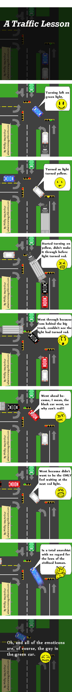 A Traffic Lesson