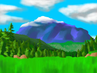 Mountain by GuildmasterPhill