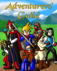 Adventurers' Guild Title Poster by GuildmasterPhill