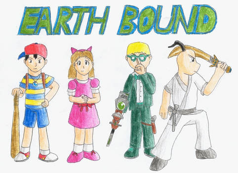 Earthbound drawing