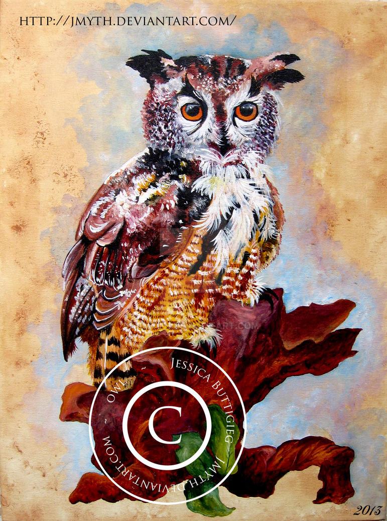 Owl by Jmyth