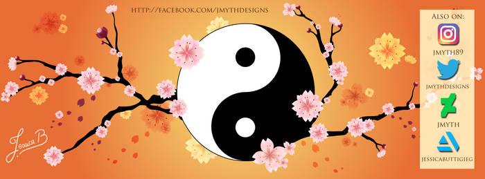 YinYang  Sakura Blossoms