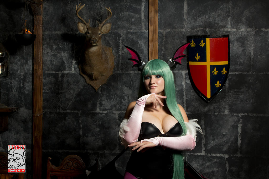 Morrigan Aensland by Pokypandas