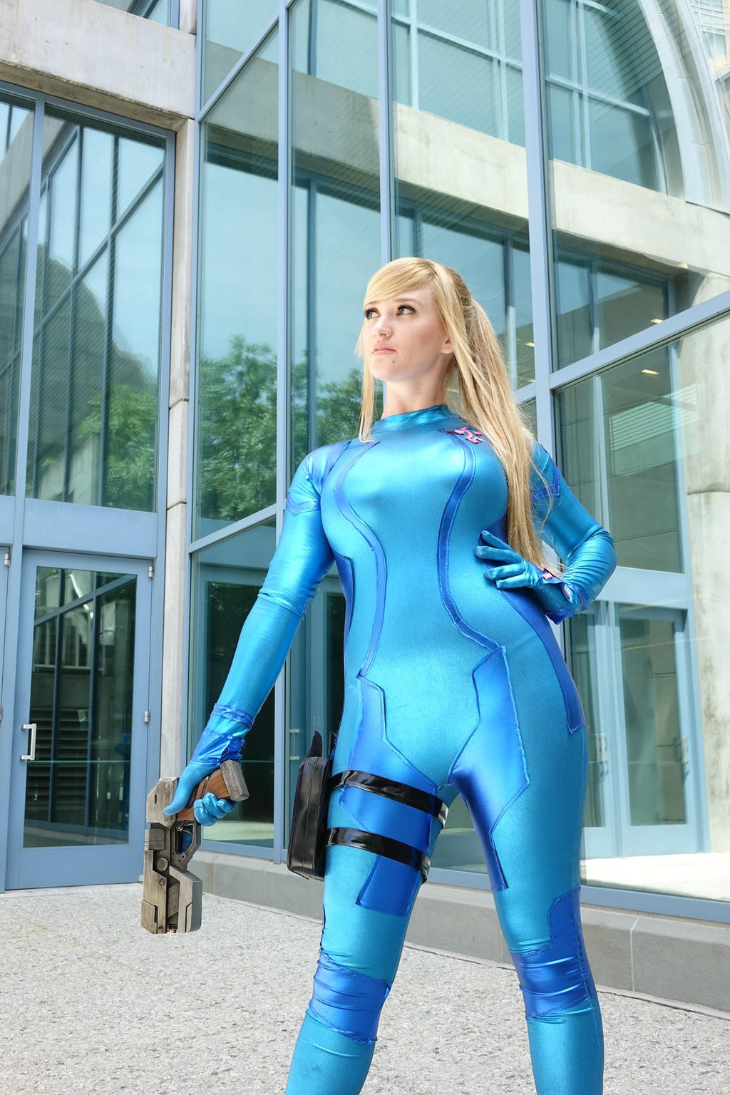 Samus Sneak Peek by Pokypandas