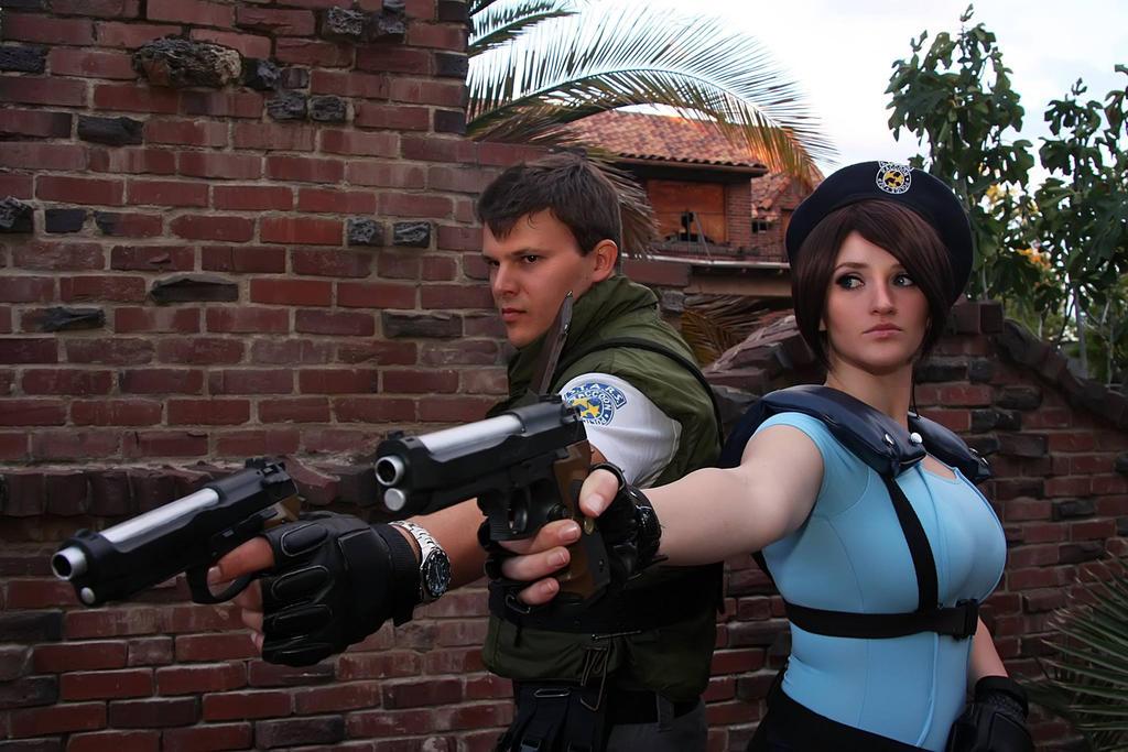 Pulp Fiction meets Resident Evil by Pokypandas