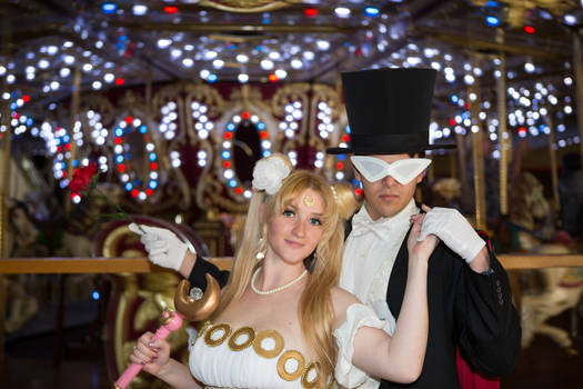 Princess Serenity and Tuxedo Mask