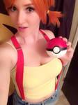 Closet Cosplay Misty from Pokemon