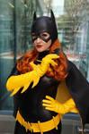 Batgirl with a Batarang