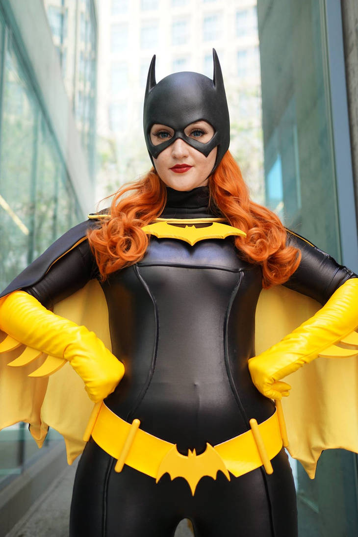 Batgirl by Pokypandas