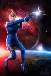 Galactic Bounty Hunter by Pokypandas