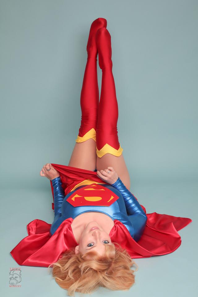 Supergirl Glamour by Pokypandas