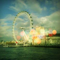 london eye by yellougreenandbloo