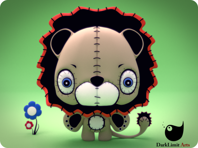 Lindo The Lion by DarkLimitArts