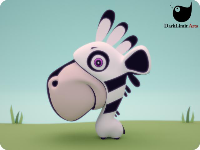 Trent The Zebra by DarkLimitArts