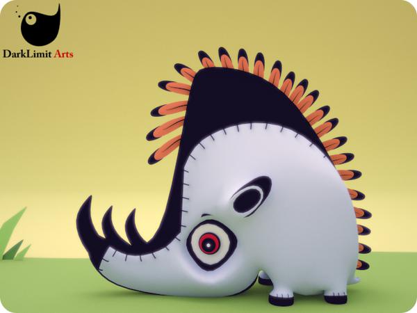 Arturo The Rhino by DarkLimitArts