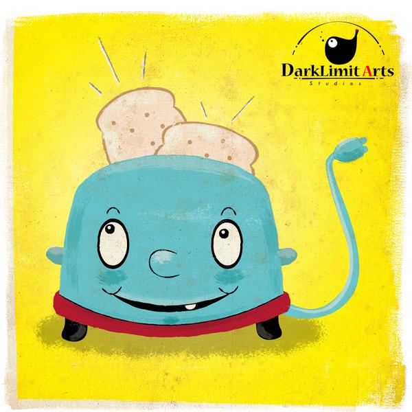Toaster Illustration by DarkLimitArts