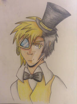 Bill Cipher Human