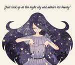 Goddess of Night Sky